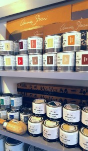 Annie Sloan Paint display