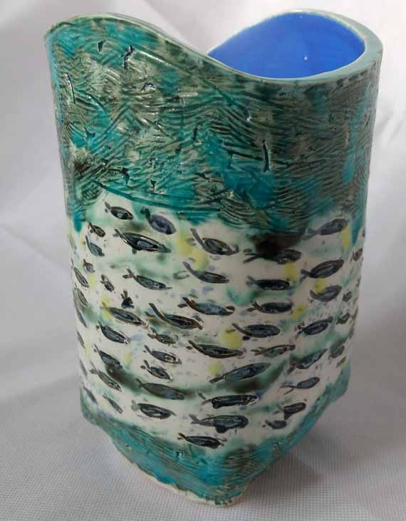 School of Fishes Vessel by Aurora