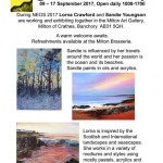 Lorna Crawford and Sandie Youngson NEOS exhibition