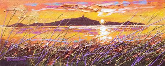 May Isle Morning, acrylic painting by Deborah Phillips